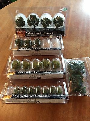 N Scale HO Scale Woodlands Scenics Miscellaneous Tree Lot