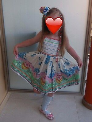Oilily summer dress summer 2014 with m2m bow age 6 Look Fab
