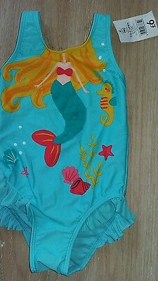 Girls Swimsuit By George Age 18-24 Months