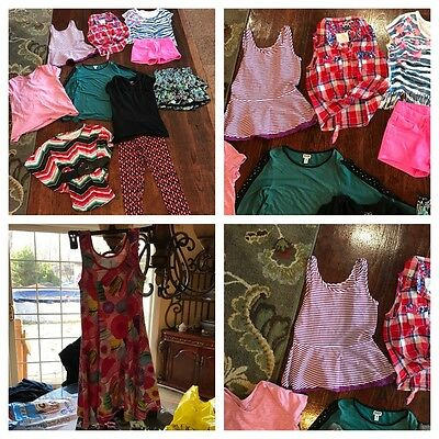 girls mixed lot justice size 10