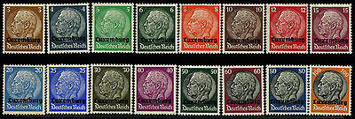 Luxembourg N1-16 MH - German Occupation