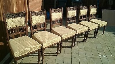 6 Period chairs for renovation