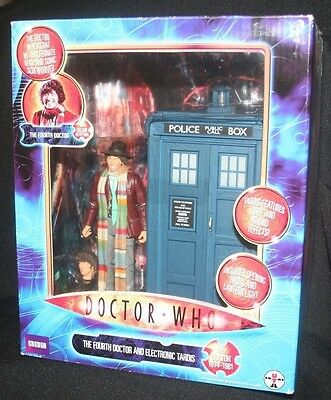 No 03538 Underground Toys The Fourth Doctor And Electronic Tardis Sealed