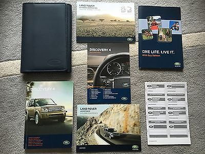 Land Rover Discovery 4 Lr4 Owners User Manual Handbook & Wallet Set 2010-2016