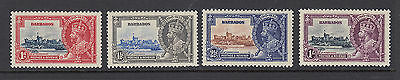 1935 Barbados M/M Silver Jubilee set of stamps (SG 241/4)