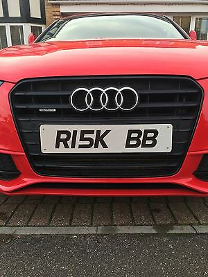 Personalised / Cherished Registration Private Number Plate R15K BB