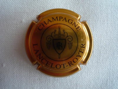 CAPSULE CHAMPAGNE LANCELOT ROYER  OR  Lettres  Fines