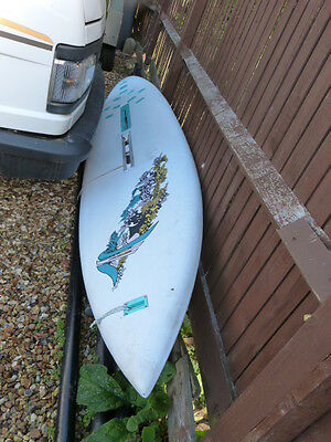 345 Vinta recreation windsurfer board with sail