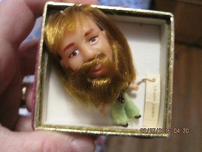 Vintage  Happy Hippies  Doll!    (Liddle Kiddle Type )  Rare Tag On !