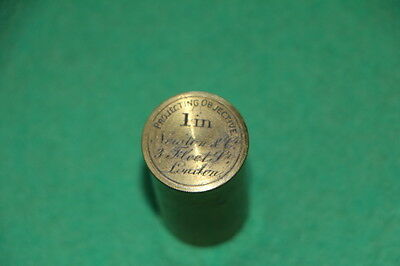 1 Antique Brass Canister ( Empty) By Newton