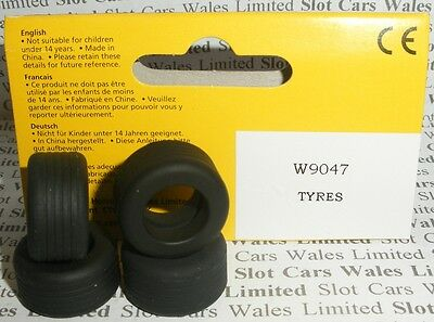 Scalextric - W9047 F1 Front and Rear Tyres - NEW