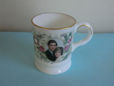 Princess Diana Prince Charles & Prince William Birth Miniature Coalport Mug
