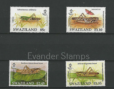 Swaziland 2005 Insects - Locusts. MNH