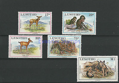Lesotho 1984 Young Animals. MNH