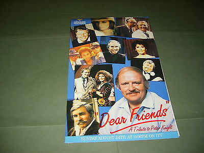 Streisand Howard Keel Morecambe & Wise Tommy Steele Yorkshire TV 1986 Publicity