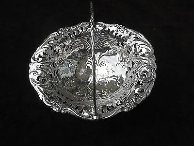 1765 pretty George 111 small wing handled basket by J Albright