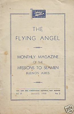 The Flying Angel Missions To Seamen Buenos Aires.jan 50