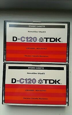 TDK D-C120 (×2) : 1979 : Made in Japan