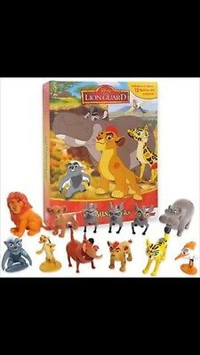 Lion Guard Busy Books Figures And Playset