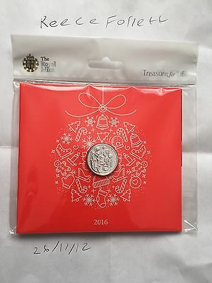 The Christmas Nativity Story 2016 UK £20 Fine Silver Coin