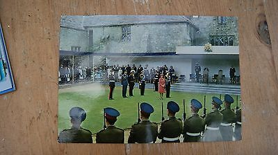 Lord Mountbatten being Installed as Governor of the Isle of Wight Postcard