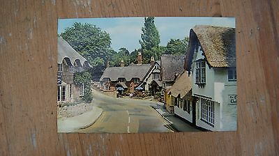 The Old Village, Shanklin, Isle of Wight postcard