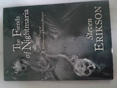 STEVEN ERIKSON - The Fiends of Nightmaria - SIGNED Ltd 300 1st/First Edition OOP