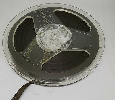 4 X vintage 5 inch diameter wide, reel- to- reel recording tape for recorder