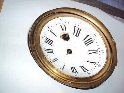 french clock for parts