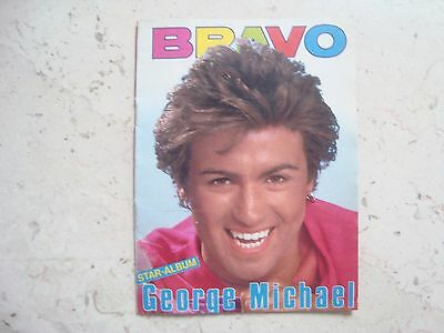 GEORGE MICHAEL rare MINIATURE vintage 80´s SPECIAL cover magazine WHAM!