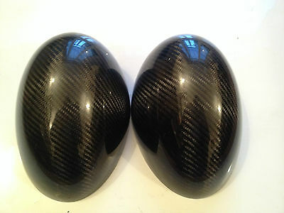 Genuine BMW MINI R56 John Cooper Works Carbon Fibre Wing Mirror Covers JCW GP2