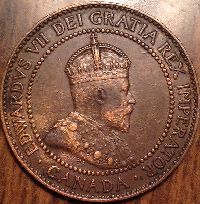 1909 Canada Large Cent In Superb Better Grade