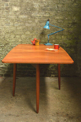 Vintage Austinsuite Mid Century Teak Drop Leaf Dining Table