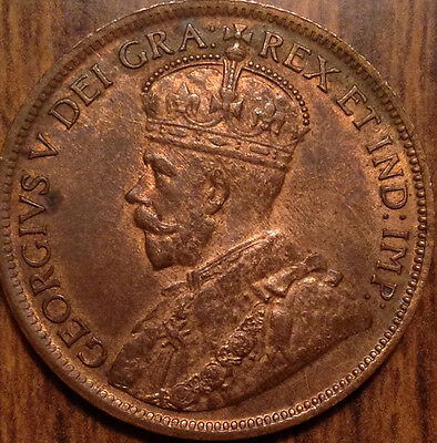1918 Canada Large Cent Red/brown Uncirculated