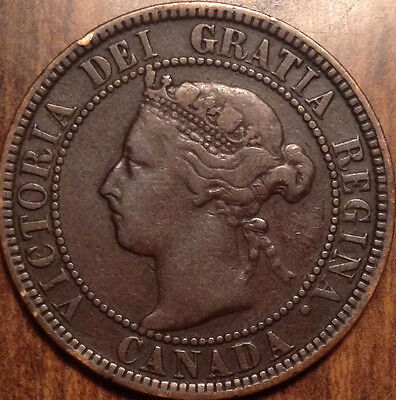 1901 Canada Large Cent Good Penny