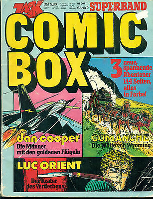 ZACK COMIC BOX Superband 9  Koralle Verlag 1974