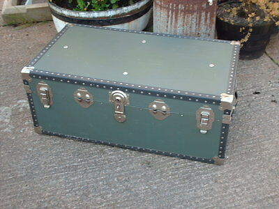 Vintage Travel  Chest / Trunk