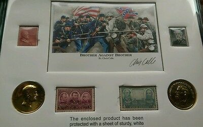 U.S. Civil War Grant & Lee  commemorative set