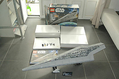 Lego star wars ucs 10221 super star destroyer complet boite notice minifig