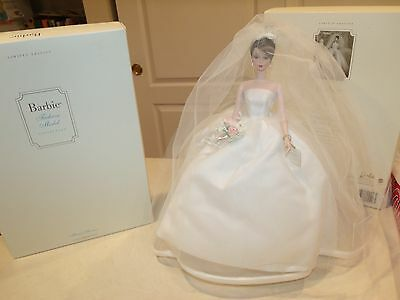 2001 Impeccable Maria Therese Fashion Model Silkstone Bride Mint Stunning Gown