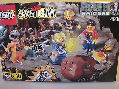 LEGO Rock Raiders (4930). With box + booklet.  VGC