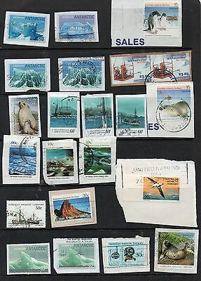 AUSTRALIAN ANTARCTIC TERRITORY older selection of many different stamps