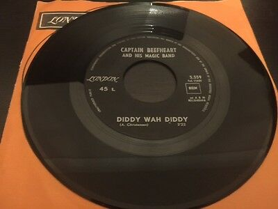 Captain Beefheart - Diddy Wah Diddy London Records, 1966, Belgium, EX