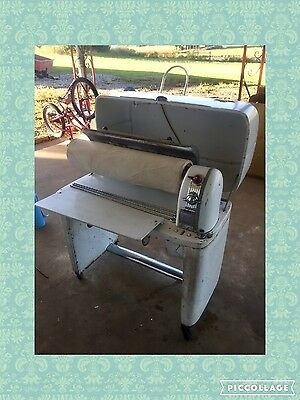vintage Kenmore Mangle Ironer Gold Series with rolling press 1950's