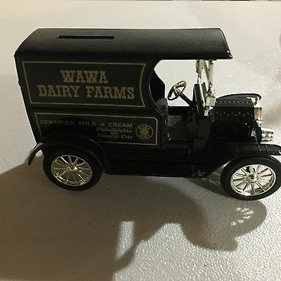 "Wawa Die-Cast Ford Delivery Truck Coin Bank 6"" Collectable  Philadelphia NM"
