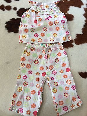 Used Vertbaudet Trouser And Top Set Age 2 Yrs