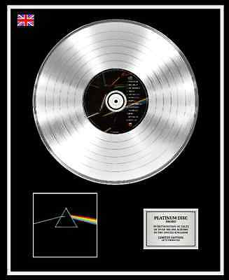 PINK FLOYD Ltd Edition CD Platinum Disc Record THE DARK SIDE OF THE MOON