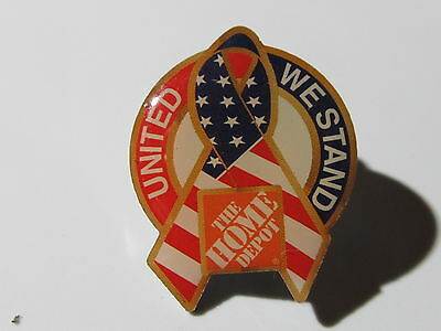 New Home Depot united we stand Lapel Pin