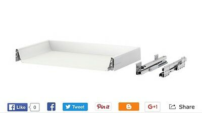 IKEA MAXIMERA Drawer 60x37 cm Low: 302.046.37 With Ringhault Drawer Front.