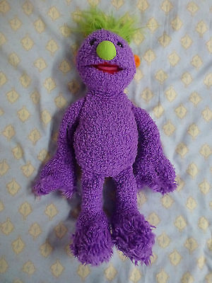 Hoobs Made By Tomy By Jim Henson Soft Toy Makes Sounds